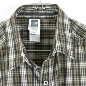 The North Face Plaid Short Sleeve Mens